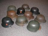 GERMAN WWI AND WWII HELMENTS - 1 of 1