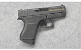 Glock ~ Model 43 Gadsden Edition ~ 9 mm Luger