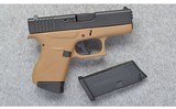 glockmodel 43 apollo custom9 mm luger