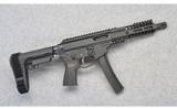 quarter circle 10qc5 ar pistol9 mm luger