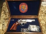 Smith & Wesson model 19 NCPD commemorative 357 Mag one number 755 of 826 made