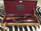 Holland & Hollandshot and regulated pair of 12 ga. Scott consecutive serial numbers original case - 1 of 15