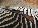 English custom rifle in 270
