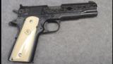 Colt Service Model Ace, Engraved, .22 LR