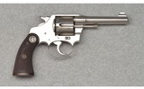 Colt ~ Police Positive ~ .38 Short