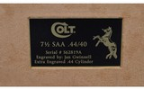 Colt ~ SAA 3rd Generation, Jan Gwinnell Engraved ~ .44-40 Win - 12 of 13
