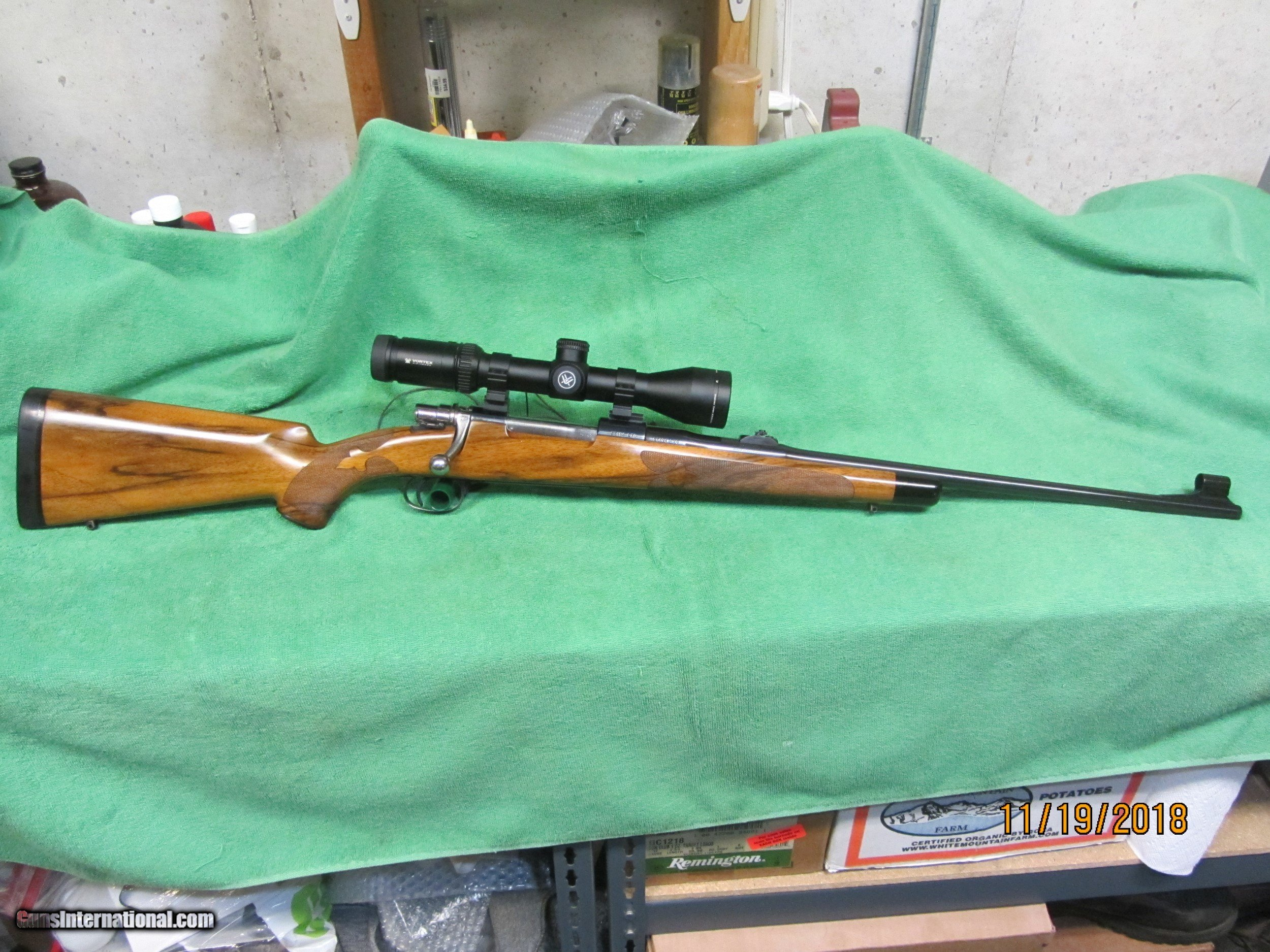 browning belgium safari custom stocked rifle 30 06 with scope georgeous
