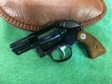 Colt AGENT 38 Special revolver AS NEW Condition with custom grips