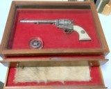 "RARE Colt 1873 3rd Generation Custom Shop ""Texas Ranger"""