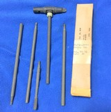 Korean vintage M 1 cleaning rods still seal in box