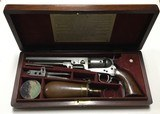 Colt Navy 1851 36 Caliber W/ Wooden Box and Accessories
