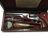 Colt Navy 1851 36 Caliber W/ Wooden Box and Accessories - 13 of 14