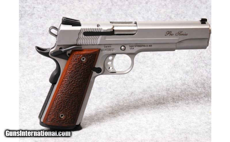 Smith & Wesson Model SW1911, 9mm Parabellum