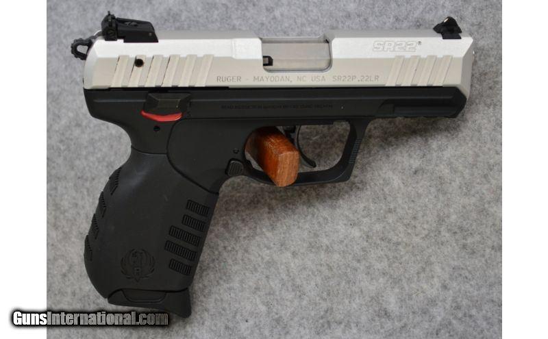 Ruger ~ SR22 ~ .22 Lr. ~ Carry Pistol