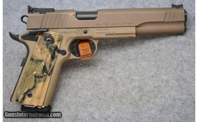 Para Ordnance ~ 1911 Elite LS Hunter ~ 10mm Auto