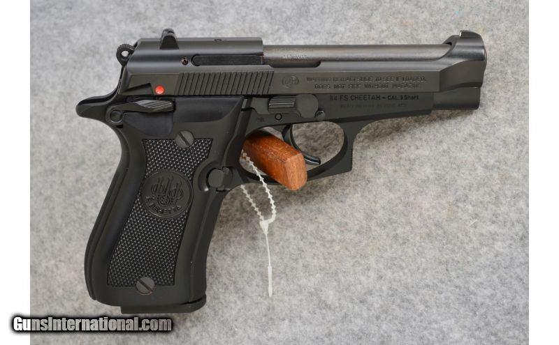 Beretta ~ 84 FS Cheetah ~  380 ACP