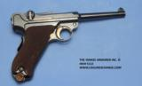 Luger DWM American Eagle Test Luger Model 1900, Caliber 9 mm, Serial Number 66XX. - 2 of 7