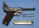 Luger DWM American Eagle Test Luger Model 1900, Caliber 9 mm, Serial Number 66XX. - 7 of 7
