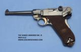 Luger DWM American Eagle Test Luger Model 1900, Caliber 9 mm, Serial Number 66XX. - 1 of 7