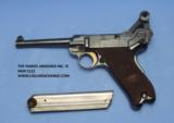 Luger DWM American Eagle Test Luger Model 1900, Caliber 9 mm, Serial Number 66XX. - 6 of 7