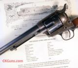 "Colt Mdl 1873 Single Action Army Ser. 1134XX. Cal. 45 Colt, Barrel length 7-1/2""."