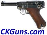 Mauser Luger P-08 (coded42) Dated 1936 Ser 52XX.