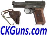 Jap. Army Mauser 1910. Cal. .32acp, Ser 4914XX Rig.