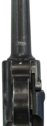 """Mauser (Luger) P-08 """"G"""" Date. Cal. 9 mm, Ser. 51XX d. - 7 of 8"""