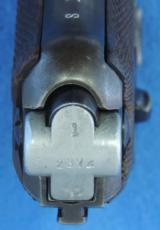 Mauser Banner Nazi Police P-08 Cal. 9 mm, Ser. 23XX u Dated 1942. - 6 of 7