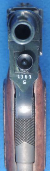 Glisenti Mdl. 1910 Army, Cal. 9 mm Glisenti, Ser. G 13XX. - 6 of 7