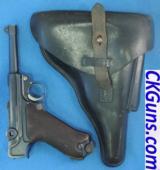 DWN (Luger), Police Rig, Cal. 9mm, Ser, 6025 t.