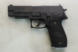 Sig Sauer , P-226, Cal. 9mm, Ser. U815XXX, WITH BOX AND ACCESSORIES!