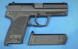 Heckler & Koch USP 9 mm, GERMAN MADE, KE Date, Ser. 24-13674.