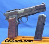 Browning P-35 (Nazi).TANGENT SGHT Cal. 9 mm, Ser. 97829 *AWESOME CONDITION!!!!*