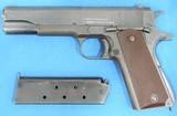 """Remington Rand U.S. 1911A1 Cal. 45 acp, Ser .991271, Mfg. 1943. """"Super example"""""""