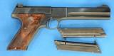 Colt Match Target Woodsman, 2nd Series, Cal. .22 LR, Ser. 77478 S,. Mfg.1950
