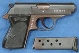 Walther PPK Wartime (Very Rare) Dural Frame Rig, Cal. 7.65, Ser. 362XXX k Mfg. 1942