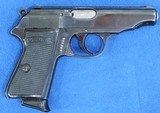 Walther PP, Holster Rig. Pre-War, Very Rare Cal. .22 LR, Ser. 921688 - 4 of 9