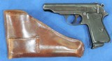 Walther PP, Holster Rig. Pre-War, Very Rare Cal. .22 LR, Ser. 921688 - 2 of 9