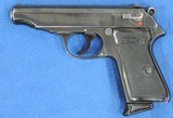 Walther PP, Holster Rig. Pre-War, Very Rare Cal. .22 LR, Ser. 921688 - 3 of 9