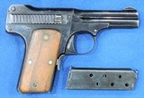 Smith & Wesson Mdl. 1913, Cal 35 S & W , Ser. 2121 Original Box And S&W Factory Letter included. - 2 of 11