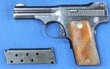 Smith & Wesson Mdl. 1913, Cal 35 S & W , Ser. 2121 Original Box And S&W Factory Letter included. - 1 of 11