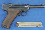 DWM, Luger P-08, Dated 1913, Cal. 9mm, Ser. 45XXa