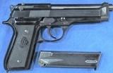 """""""Minty"""" Beretta 92 S Cal 9mm, Ser. B5445XX Z"""