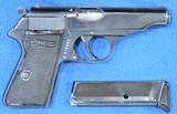 Walther PP Super Rare Rare Wartime Comm. Cal. .22 LR, Ser. 1683XX