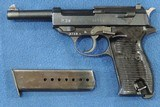 Walther P-38, ( AC-45), Cal. 9mm, Ser. 5740c.