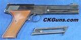 Colt Match Target Woodsman Cal. .22 LR, Ser. 1969XX Mfg. 1967. MAGNIFICENT CONDITION!!!!