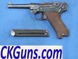 Mauser P-08, Code S,42 Dated 1938,Cal 9mm, Ser. 2401 n