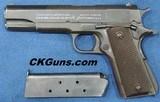 Colt U.S. 1911 A-1 Cal. 45 ACP, Ser. 22899XX.