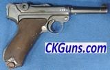 Erfurt Luger, P-08, Cal. 9mm, Ser. 2331, Dated 1916.
